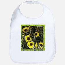 Sunflowers! Digital flower photo! Bib