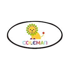 Coleman Loves Lions Patches