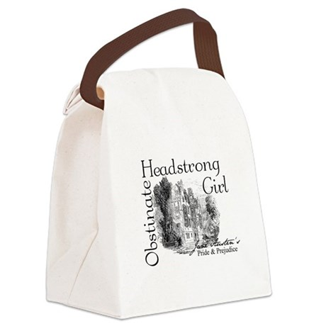 Obstinate Headstrong Canvas Lunch Bag