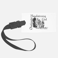 Obstinate Headstrong Luggage Tag