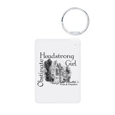 Obstinate Headstrong Aluminum Photo Keychain