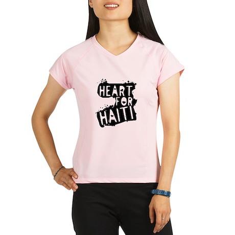 Heart For Haiti on Light Peformance Dry T-Shirt