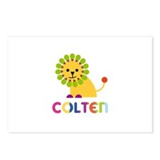 Colten Loves Lions Postcards (Package of 8)