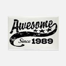 Awesome Since 1989 Rectangle Magnet
