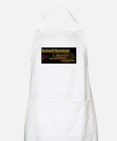 Voting is our right Apron