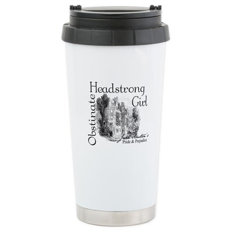 Obstinate Headstrong Stainless Steel Travel Mug
