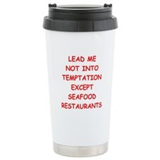 seafood Travel Mug