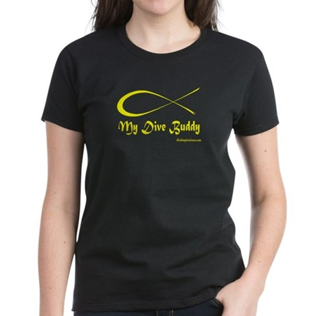 My Dive Buddy Women's Dark T-Shirt