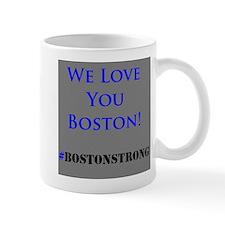 We Love Boston Mug