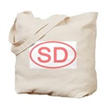 SD Oval - South Dakota Tote Bag