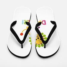 Damari Loves Lions Flip Flops