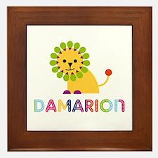 Damarion Loves Lions Framed Tile