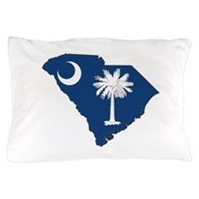 South Carolina Flag Pillow Case