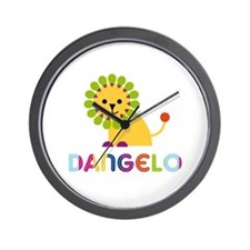 Dangelo Loves Lions Wall Clock