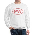 PW Oval - Palau Sweatshirt