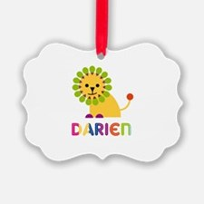Darien Loves Lions Ornament