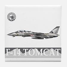 F-14 Tomcat VF-1 Wolfpack Tile Coaster