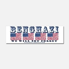 Benghazi - We will Not Forget Car Magnet 10 x 3