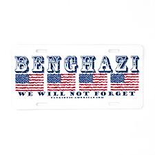 Benghazi Aluminum License Plate