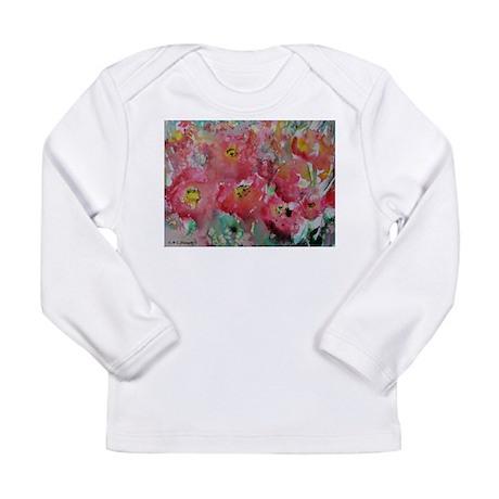 Poppies! Floral art! Long Sleeve T-Shirt