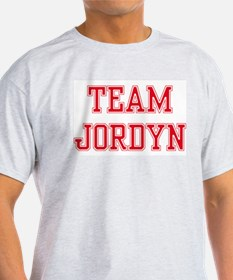 TEAM JORDYN  Ash Grey T-Shirt