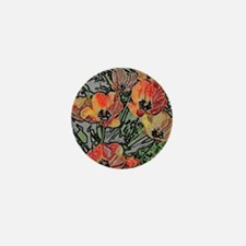 Grandmas Tulips Mini Button