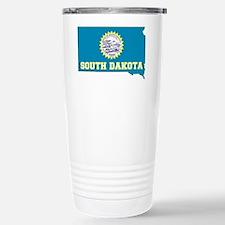 South Dakota Stainless Steel Travel Mug