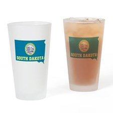South Dakota Drinking Glass