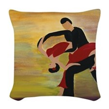 DANCERS Woven Throw Pillow
