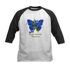 Down Syndrome Awareness Butterfly Baseball Jersey