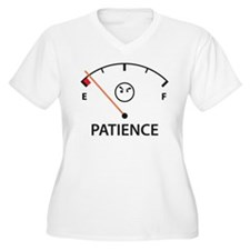 Out of Patience Plus Size T-Shirt