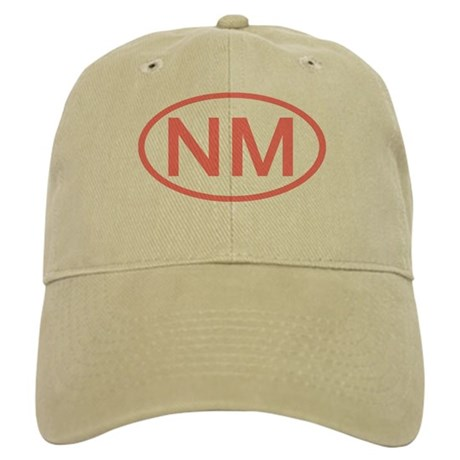 NM Oval - New Mexico Cap
