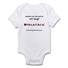 Evil laugh Infant Bodysuit
