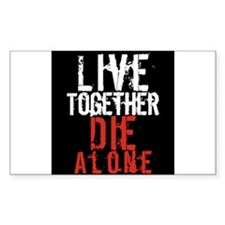 Live Together, Die Alone - LOST Decal