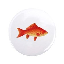 "Goldfish Logo 3.5"" Button"