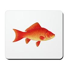 Goldfish Logo Mousepad
