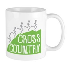 Cross Country Running Hill Mug