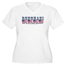 Benghazi We Will Not Forget Plus Size T-Shirt