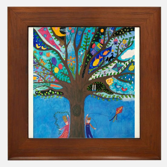 Tree of Life Framed Tile