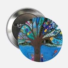 """Tree of Life 2.25"""" Button"""