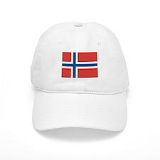 Norwegian Flag Baseball Baseball Cap