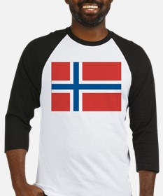 Norwegian Flag Baseball Jersey