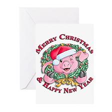 Christmas 1 Greeting Cards (Pk of 10)
