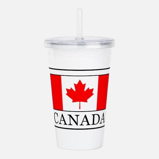 Canada Acrylic Double-wall Tumbler