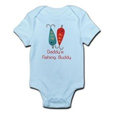 Daddys Fishing Buddy (1) Body Suit