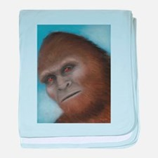 Bigfoot: The Unexpected Encounter baby blanket