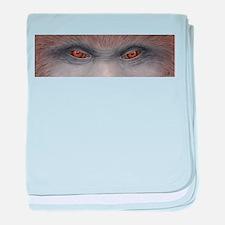 Sasquatch Eyes baby blanket