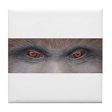 Sasquatch Eyes Tile Coaster