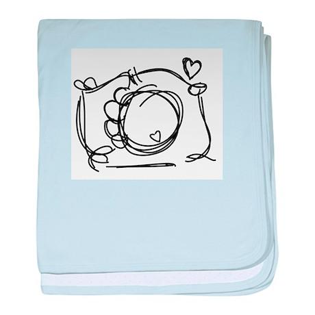 Capture My Heart baby blanket