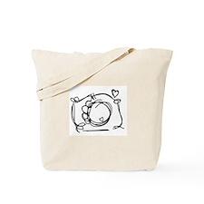Capture My Heart Tote Bag